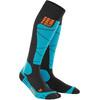 cep Ski Merino  Sokken Dames blauw/zwart
